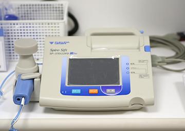 肺機能測定装置(スパイロメータ)