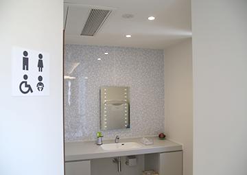 洗面室とトイレ