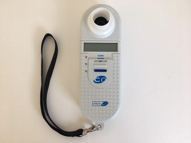 一酸化炭素ガス分析装置(マイクロCOモニター)
